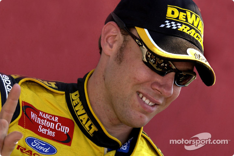 Matt Kenseth captured his first Winston Cup Pole in Dover