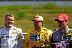 Marcel Fassler, Christian Abt and Timo Scheider