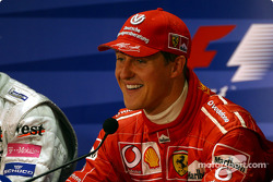 Press conference: race winner Michael Schumacher