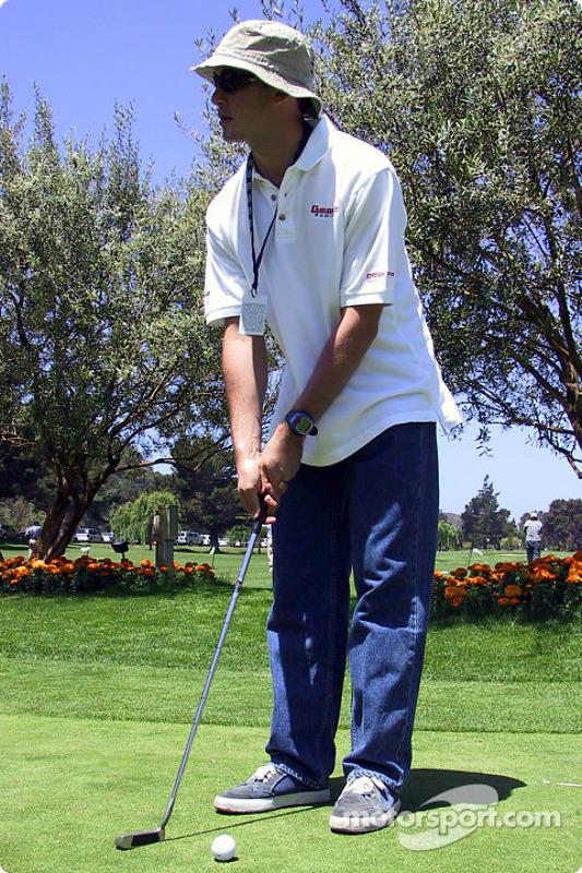 Golf tournament: Michel Jourdain Jr.