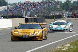 Last lap for Emanuele Pirro and Johnny Herbert