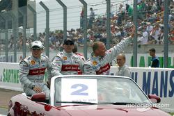 Drivers presentation: Christian Pescatori, Rinaldo Capello and Johnny Herbert