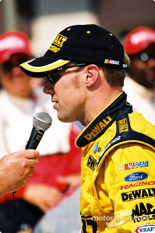 El ganador de la carrera Matt Kenseth