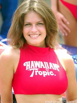 Hawaiian Tropic girl