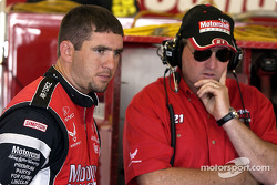 Elliott Sadler and Pat Tryson
