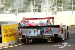 Emanuele Pirro followed by the Team Cadillac Cadillac Northstar LMP-02