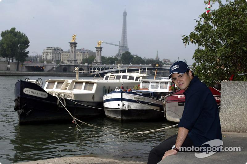 Visit of Paris with Felipe Massa