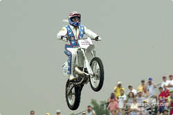 Robbie Knievel launching