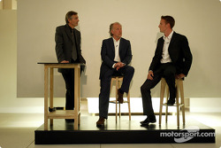 David Richards and Jenson Button