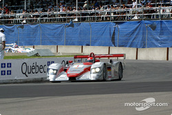 Emanuele Pirro during the pace laps