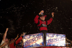Race winner Greg Biffle