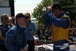 Race winner Paul Bonaccorsi and Will Turner