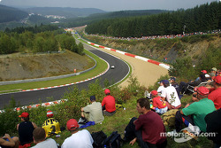 Spectators at Spa-Francorchamps