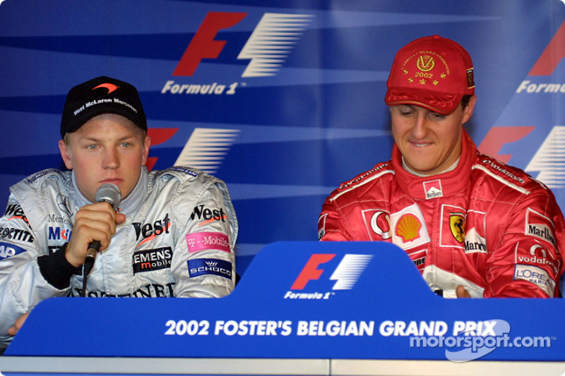 Press conference: Kimi Raikkonen and Michael Schumacher