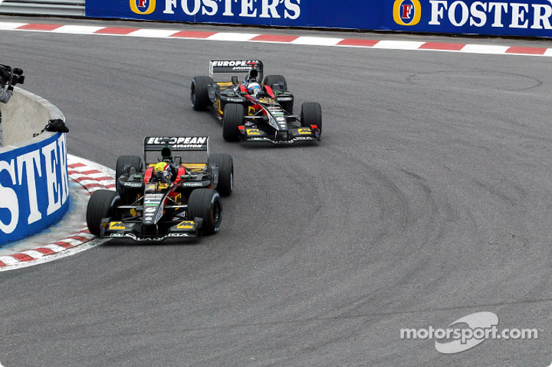 Mark Webber y Anthony Davidson