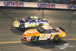 Tony Stewart and Jimmie Johnson go head-to head