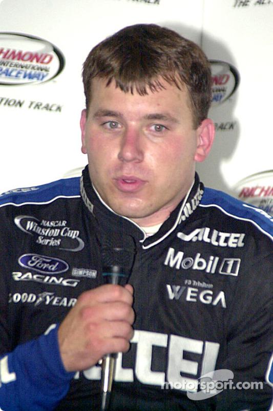Ryan Newman terminó segundo