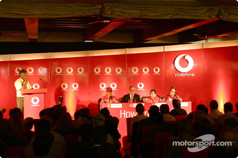 Vodafone press conference