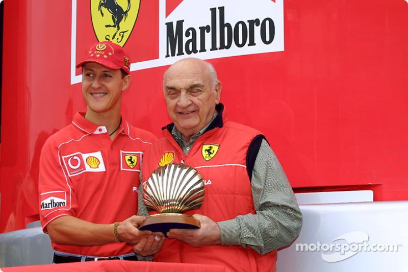 Shell presentation: Michael Schumacher