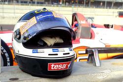 Darren Manning's helmet