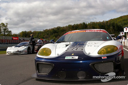 Falcon Racing Ferrari 360GT on the starting grid