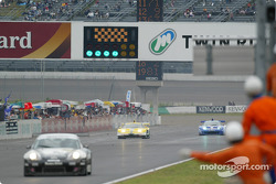 #18 Honda NSX won the race and #100 Honda NSX get the 2nd