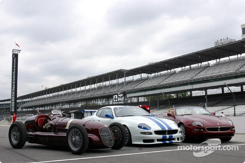 Three Maseratis at Indy: 8CTF, Trofeo and Spyder