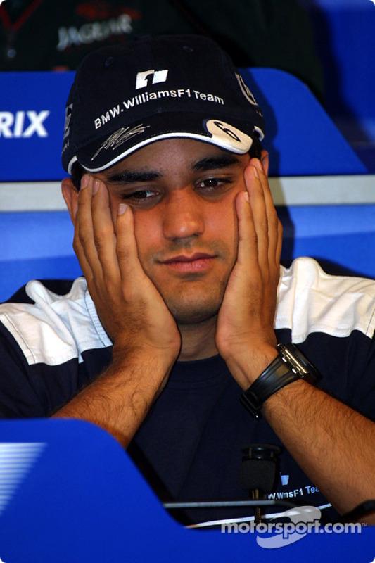 Conferencia de prensa FIA del jueves: Juan Pablo Montoya