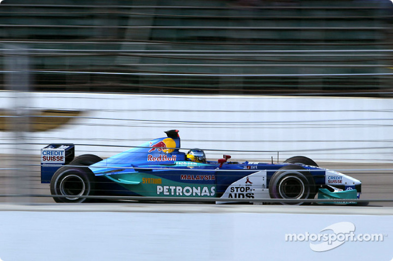 2002: Nick Heidfeld, Sauber-Petronas C21