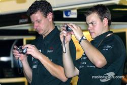 Jaguar team members