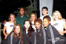 Special Olympics charity fund-raiser: Atlanta Falcons cheerleaders