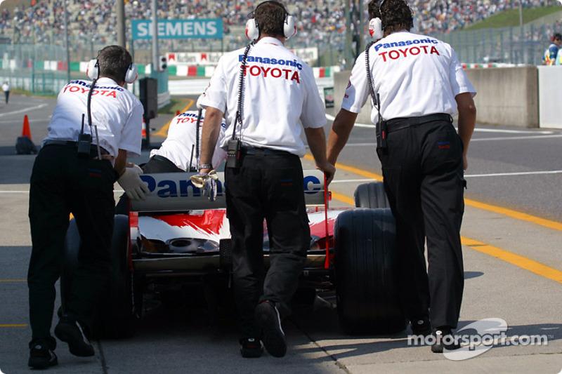 Miembros del Equipo Toyota