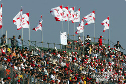 Fans at Suzuka before qualifying