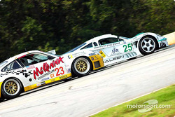 Konrad Motorsports Saleen S7R and Alex Job Racing Porsche 911 GT3-RS