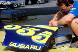 Subaru crew members