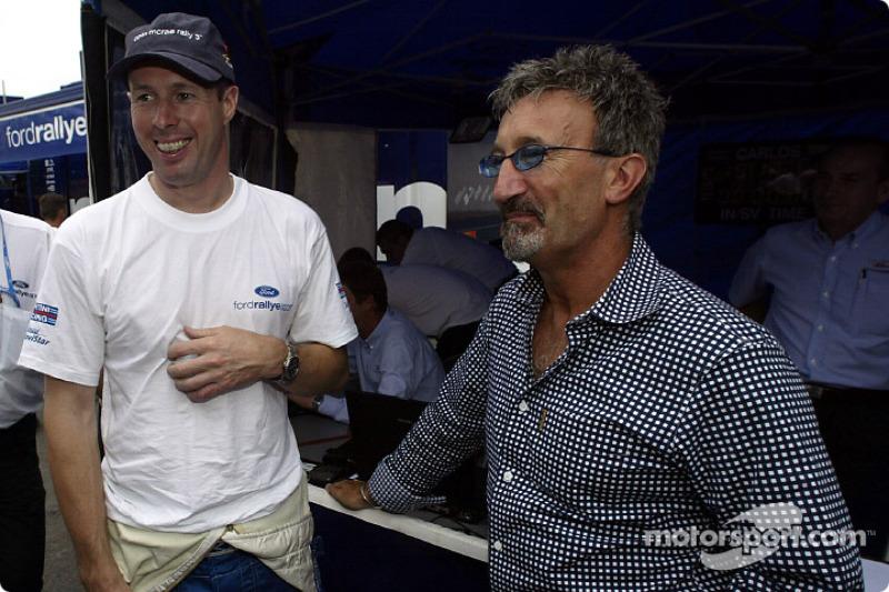 Colin McRae y Eddie Jordan