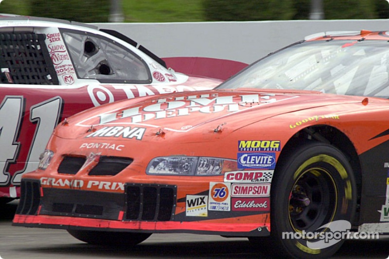 Tony Stewart et Jimmy Spencer