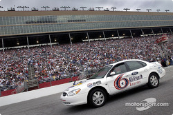 The 6 Millionth Taurus built was on display before the start the NAPA 500 and paced the field before the start of the race