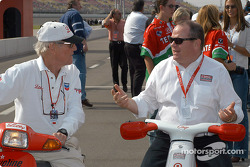 Paul Newman and Chip Ganassi