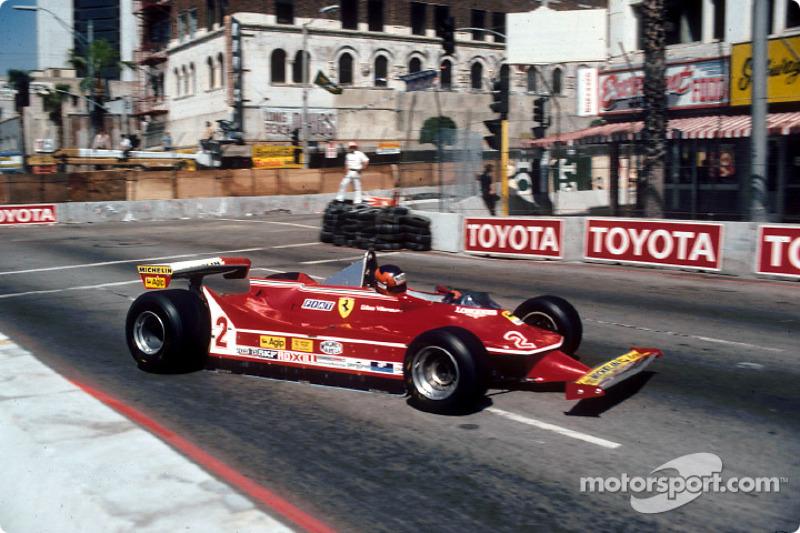 1980: Ferrari 312T5 (три пятых места, 10-е место в КК)