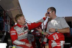 Ari Vatanen has fun