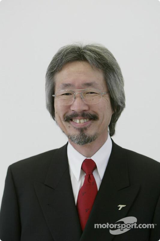 Makoto Matsui, General Manager Motor Sports Division