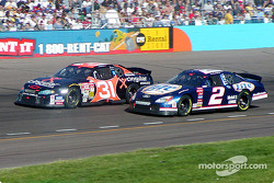 Robby Gordon and Rusty Wallace