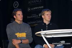 Timo Scheider and Mattias Ekström