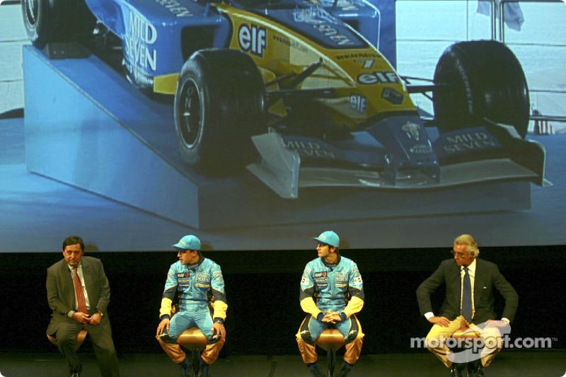 Q&A with Patrick Faure, Fernando Alonso, Jarno Trulli and Flavio Briatore