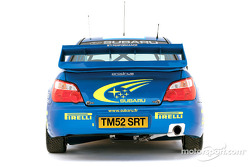 The Subaru Impreza WRC 2003 launched in Monte Carlo