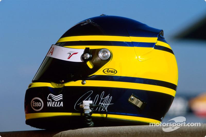 Cristiano da Matta's helmet