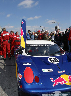 Brumos Racing on the grid