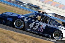 #43 Orbit Racing Porsche GT3 RS: Marc Lieb, Leo Hindery, Kyle Petty, Peter Baron