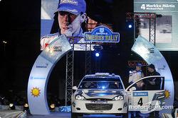 The podium: Markko Martin